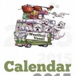 coperta calendar westilici veseli