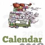 coperta calendar Westilici Veseli 2016